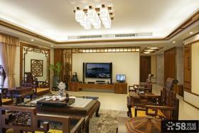客厅电视背景墙装修装饰图片