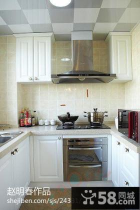厨房油烟机装修效果图