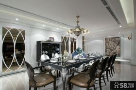 别墅新古典风格餐厅装修图片