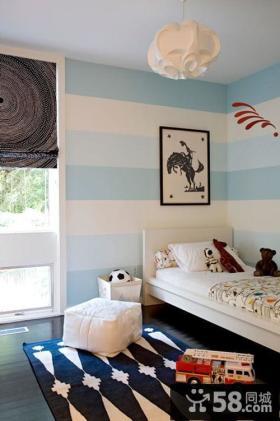 小户型现代风格儿童房装修样板间装