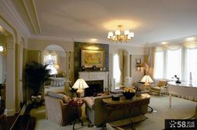 欧式风格整体客厅吊顶装修设计