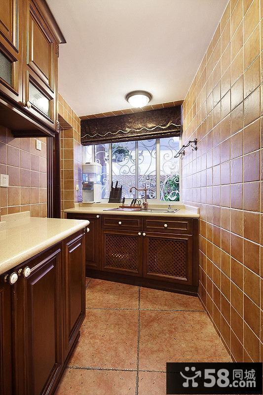 美式风格厨房设计