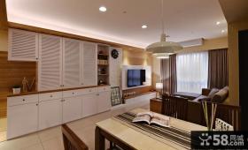 美式风格三室两厅设计图欣赏大全2015
