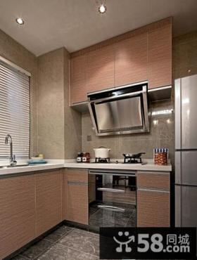 现代设计小户型厨房效果图片