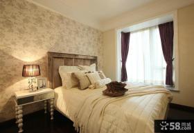 经典白欧卧室设计图
