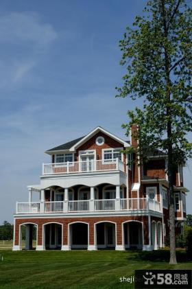 美式别墅外观设计