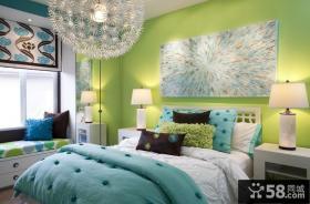 浪漫的欧式婚房客厅装修效果图大全2012图片