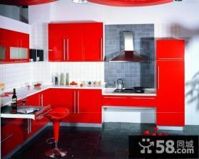 现代风格开放式厨房装修