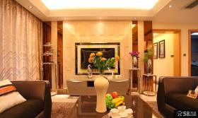 现代欧式客厅装修效果图大全2014