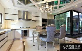 新古典风格别墅厨房装修设计图片