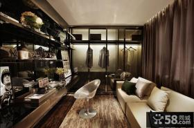 美式工业风酷感室内装修设计图