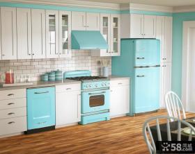 设计简单厨房橱柜欣赏