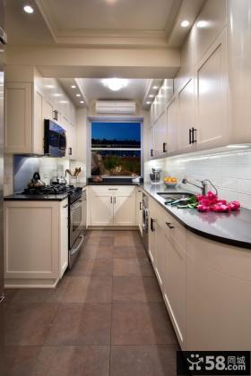 6平米开放式U型厨房设计