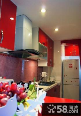现代风格家装厨房装修效果图