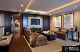 130㎡欧式现代风格客厅装修效果图大全2014图片