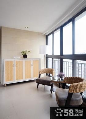优质客厅阳台设计效果图