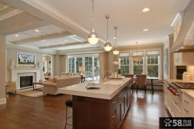 复式楼客厅装修效果图 欧式客厅欣赏