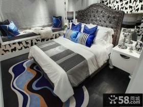 欧式新古典风格三室两厅卧室装修效果图片