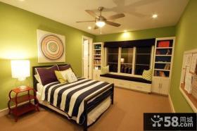 欧式住房卧室飘窗装修设计