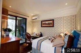 欧式小卧室装修效果图大全2013图欣赏