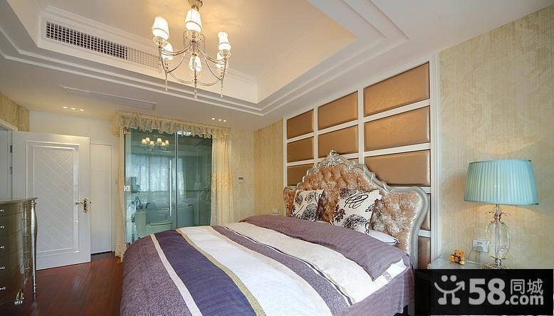 主卧室欧式装修效果图大全2015图片