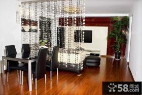 现代风格餐厅客厅隔断设计效果图