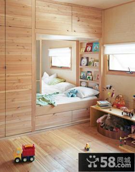 日式小空间儿童房装修效果图