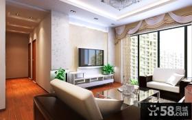 三室一厅客厅餐厅一体化装修设计效果图