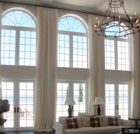 欧式别墅大厅装饰led蜡烛灯图片