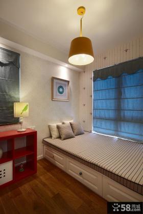 美式风格装饰设计小卧室图欣赏