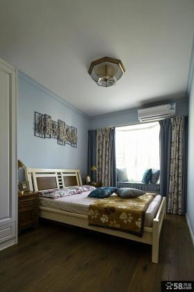 田园装修设计卧室飘窗