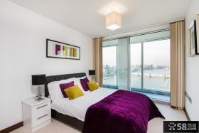 现代简约高层卧室装修效果图大全2012图片 四室两厅卧室设计效果图