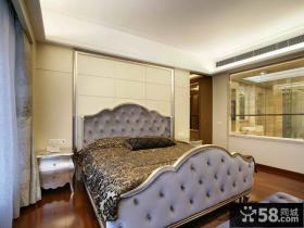 欧式新古典风格主卧室效果图