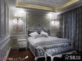 新欧式风格主卧室装修效果图欣赏