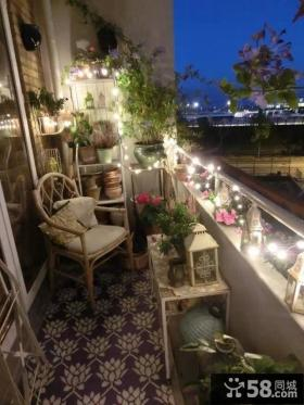 都市休闲阳台设计
