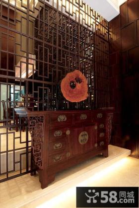 中式古典玄关设计
