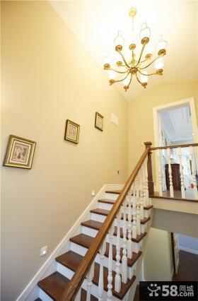 美式家装设计楼梯图片大全欣赏