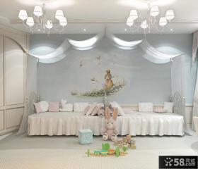 简约风格阁楼卧室装修效果图