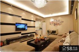 家装客厅液晶电视墙装修效果图欣赏
