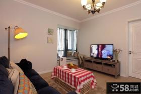 宜家设计小客厅电视背景墙效果图