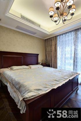 欧式古典卧室设计效果图片