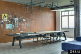 现代工业风格住宅餐厅设计