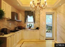 简欧风格厨房装修效果图片欣赏