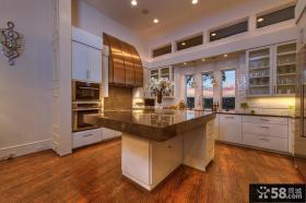 后现代风格别墅厨房设计效果图