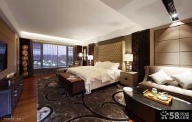欧式风格大卧室装修效果图片