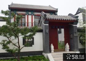 中式别墅大门设计效果图