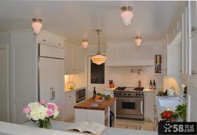 欧式厨房橱柜装饰效果图