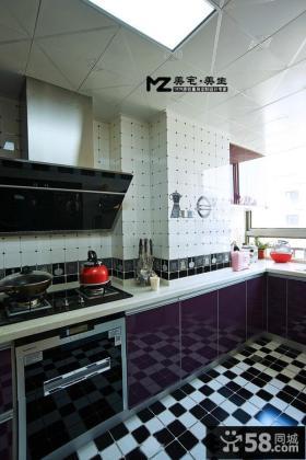 现代式家居厨房装修效果图大全2014