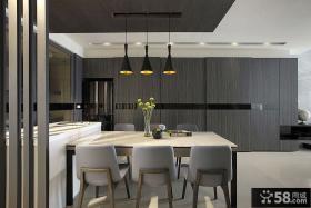 现代简约风格复式家居装修效果图