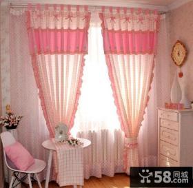 优质田园风格卧室窗帘效果图